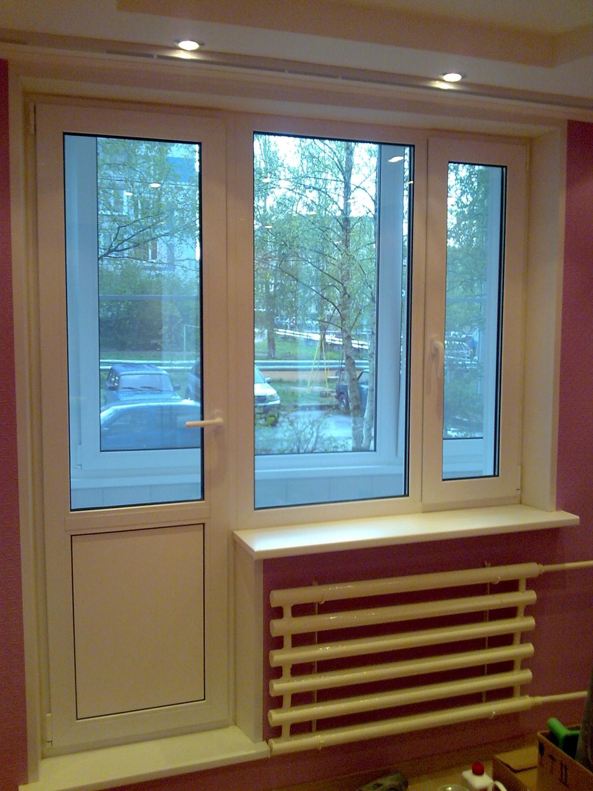 Как поставить окна на лоджию - фото лучших примеров оформлен.